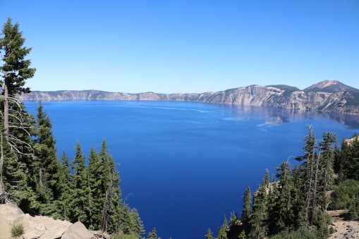 Crater Lake, OR, Aug 2016