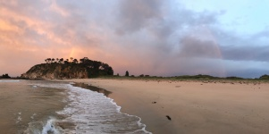 Sunrise at Tomakin Beach