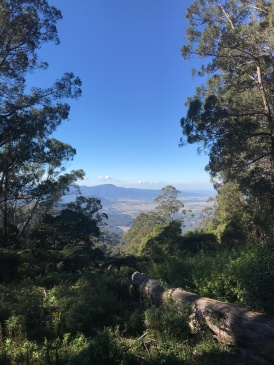 Piper's Point lookout, Snowy Mtns in NSW, Australia