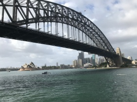 Sydney Opera House and the Harbor Bridge