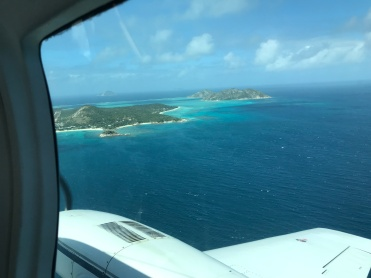 Lizard Island seen from the plane